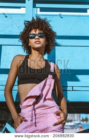 Trendy African-american Woman