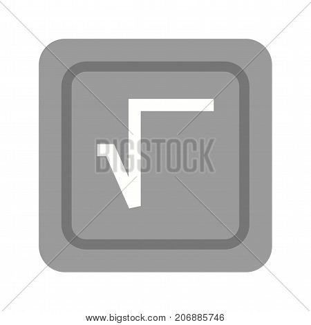 Root, square, maths icon vector image. Can also be used for Math Symbols. Suitable for mobile apps, web apps and print media.