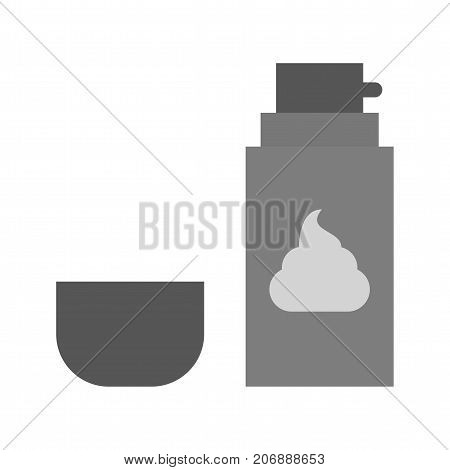 Foam, cream, shaving icon vector image. Can also be used for Mens Accessories. Suitable for mobile apps, web apps and print media.