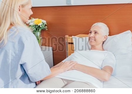 Nurse And Senior Woman