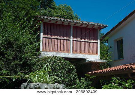 Granary In Galicia