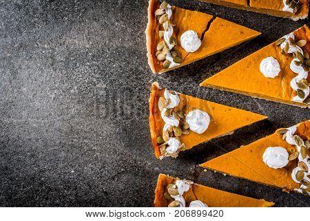 Spicy Pumpkin Pie And Tartlets