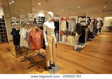 Uniqlo Store Located In Kota Kinabalu