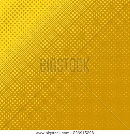 Geometrical halftone square pattern background corner design - vector graphic from squares in varying sizes