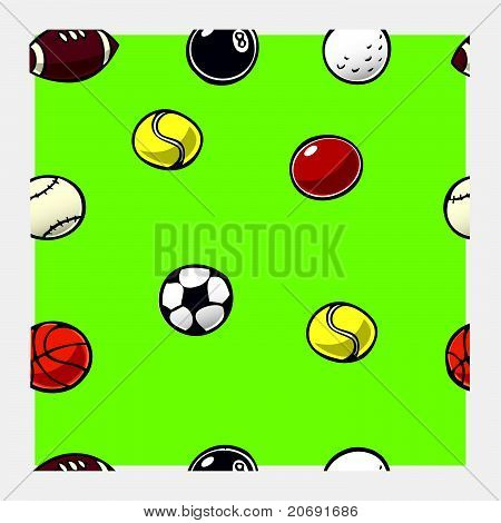 Ball Pattern Repeat