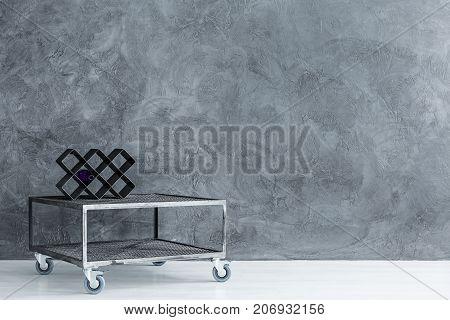 Wine Rack On Table