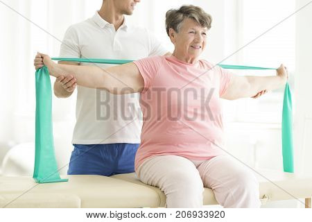 Physiatrist Providing Help