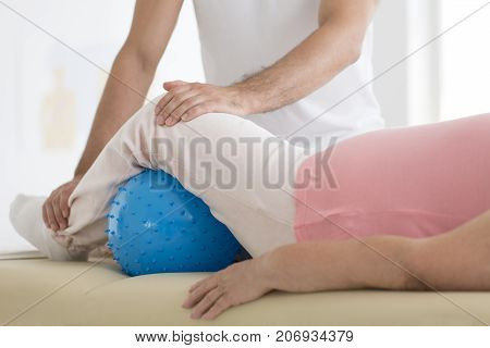 Pnf Exercises With Massage Ball