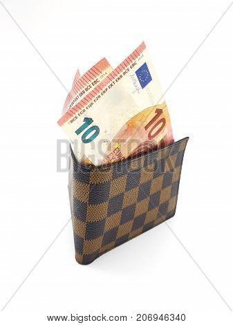 Bank Notes In Wallet