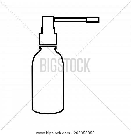 Throat Spray It Is Black Icon .
