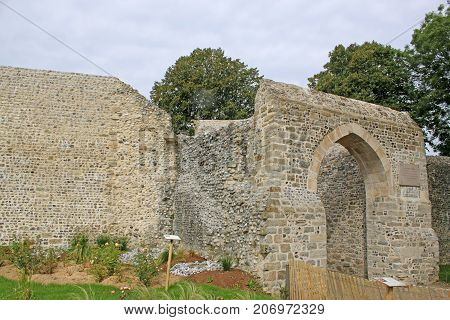 Gatehouse in St Valery sur Somme, France
