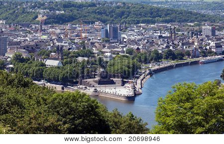 Koblenz And The German Corner
