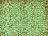 green vintage textured wallpaper perfect grunge background poster