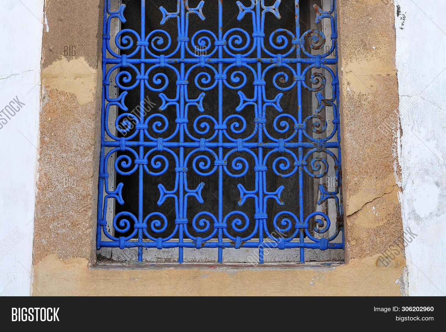 Moroccan Wrought Iron Window Grills 11
