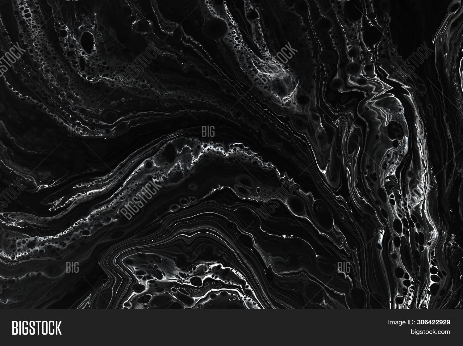 Abstract Black Marble Image Photo Free Trial Bigstock