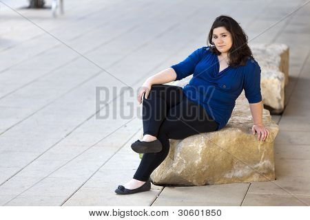 Casual Woman - Urban Environment