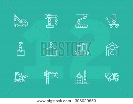 Industry Machines Vector & Photo (Free Trial) | Bigstock