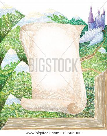 Baroque Art Illustration