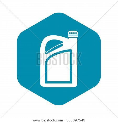 Jerrycan Icon In Simple Style On A White Background Vector Illustration