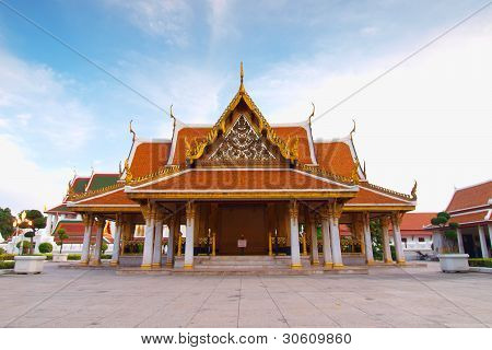 Thai Architecture: Wat Ratchanadda, Loha Prasat