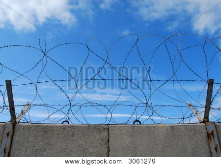 Wall Barbed Wire