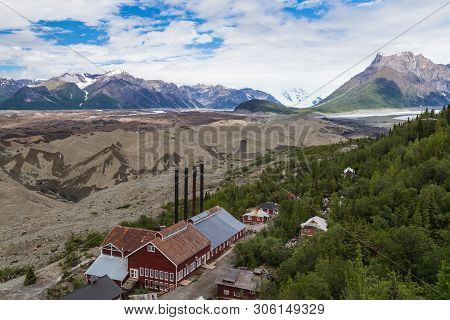 Kennicott Mill In Wrangell-st. Elias National Park In Alaska, United States