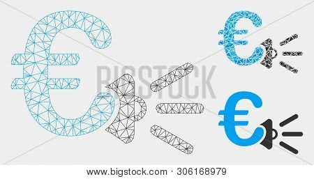 Mesh Euro Ads Vector & Photo (Free Trial) | Bigstock A Megaphone Wiring Diagram on