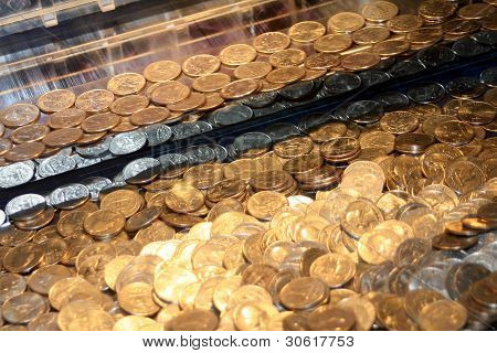 Quarters In An Arcade Game