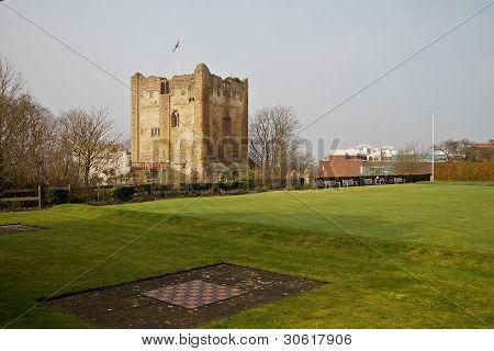 The Castle Grounds, Guildford, Surrey, Uk