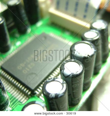 Capacitors On A PCB