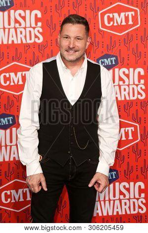 NASHVILLE - JUN 5: Ty Herndon attends the 2019 CMT Music Awards at Bridgestone Arena on June 5, 2019 in Nashville, Tennessee.