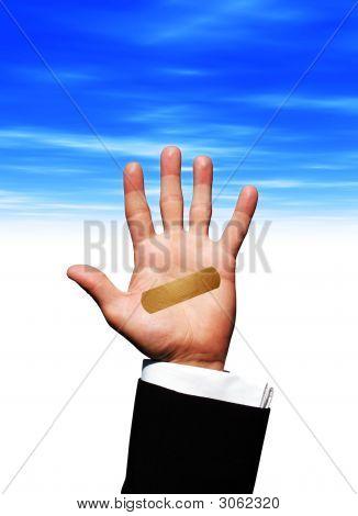 Plaster_Hand