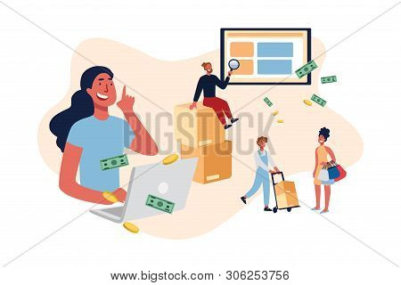 E-commerce Website Users, Eshopping Helpline, Customer Support Service Manager, Buyers Purchasing El