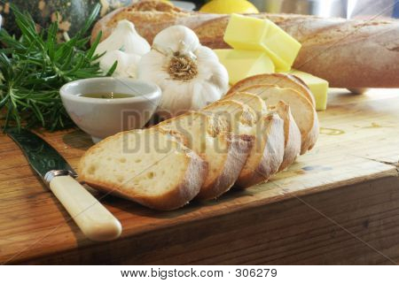 Garlic Bread Ingredients