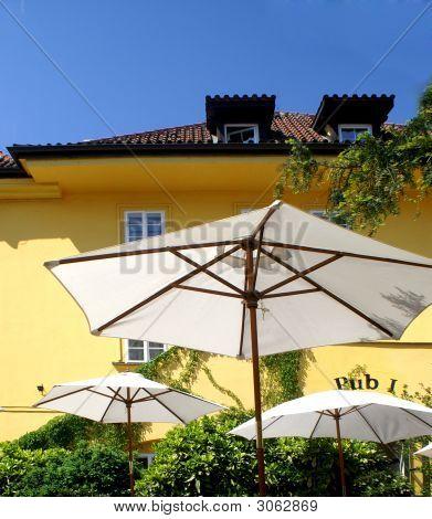 Beer Garden Prague