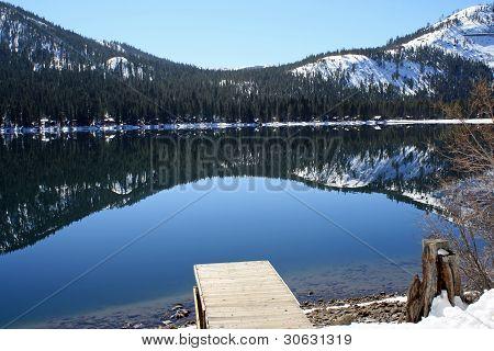 Pier Donner Lake