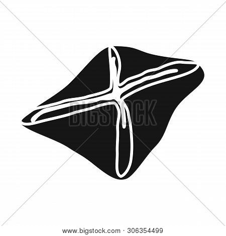 Vector Design Of Manti  And Jiaozi Sign. Set Of Manti  And Dough Stock Symbol For Web.