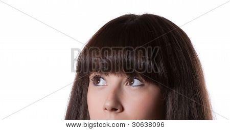 portrait of a beautiful teenager