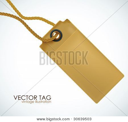 Price tag. Vector illustration.