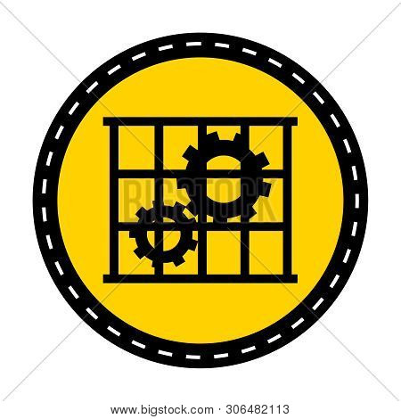 Ppe Icon.use Guards Protection Symbol Sign Isolate On White Background,vector Illustration