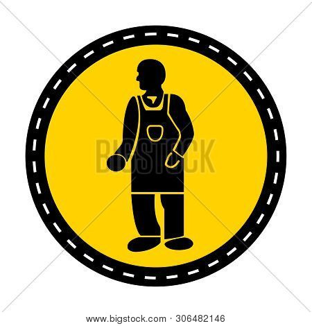 Ppe Icon.wear Protective Clothing Symbol Isolate On White Background,vector Illustration