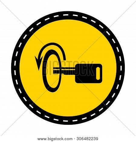 Switch Off Engine Symbol Sign Isolate On White Background,vector Illustration