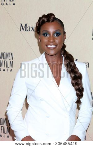 LOS ANGELES - JUN 12:  Issa Rae at the Women In Film Annual Gala 2019 at the Beverly Hilton Hotel on June 12, 2019 in Beverly Hills, CA