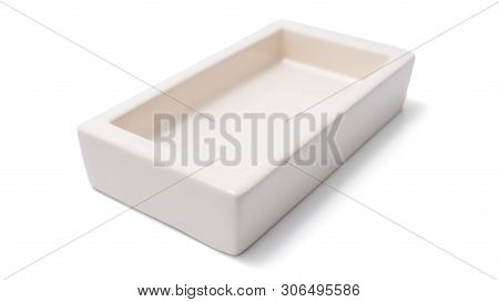 Open Box Isolated On A White Background.