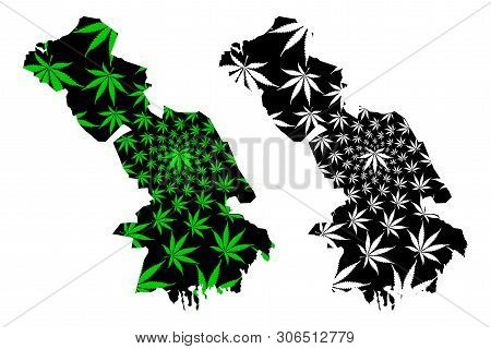 Astrakhan Oblast (russia, Subjects Of The Russian Federation, Oblasts Of Russia) Map Is Designed Can