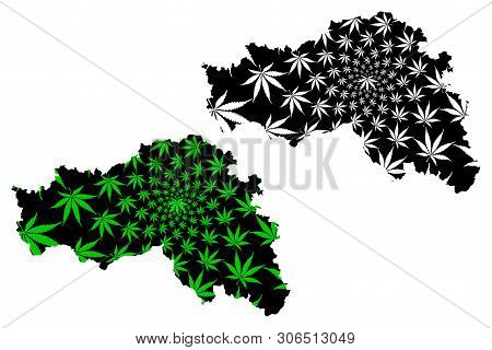 Belgorod Oblast (russia, Subjects Of The Russian Federation, Oblasts Of Russia) Map Is Designed Cann