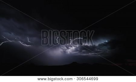 Rain Clouds Background.clouds Become Dark Gray Like A Big Smoke Before Rainfall.thunderstorm Is A St