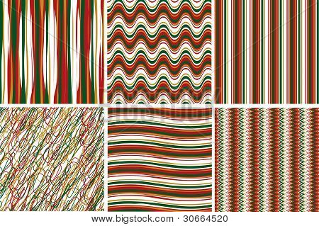Vector Illustration Pattern For Gift Box And Bag Abstract Background.