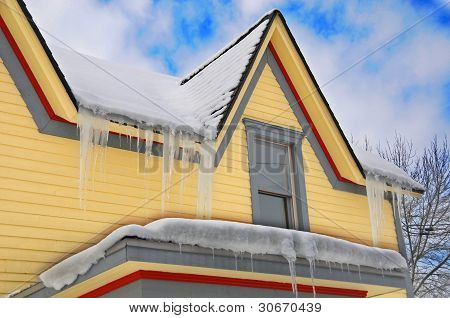 Yellow house part.