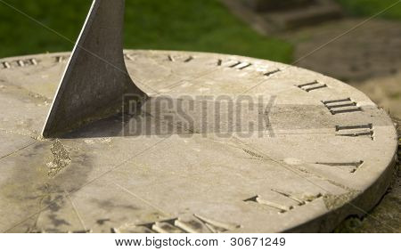 Sundial Showing Hour